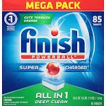 Finish Powerball Dishwasher Tabs, Fresh Scent - 85 count, 55.3 oz box
