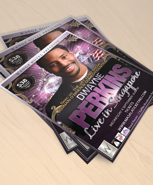 Design a Hip Hop Flyer and/or Leaflet (One Sided) for £35