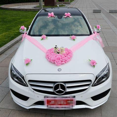 2018 Wedding Car Flower Decorations Set Artificial Flowers