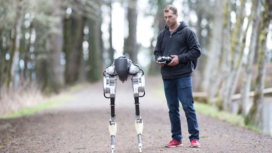 Robots with legs are getting ready to walk among us