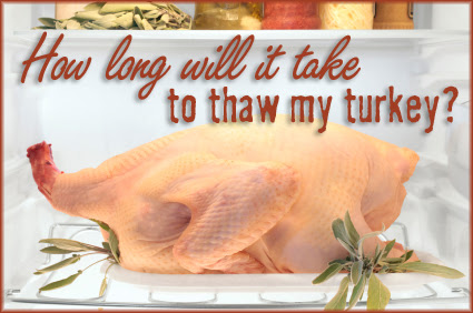 Use this quick calculator to find out how long it will take to thaw your Thanksgiving turkey in the fridge or in cold water.