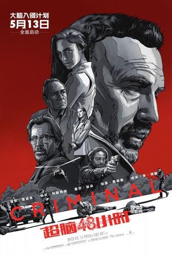 換腦緝兇/換腦行動(Criminal)poster