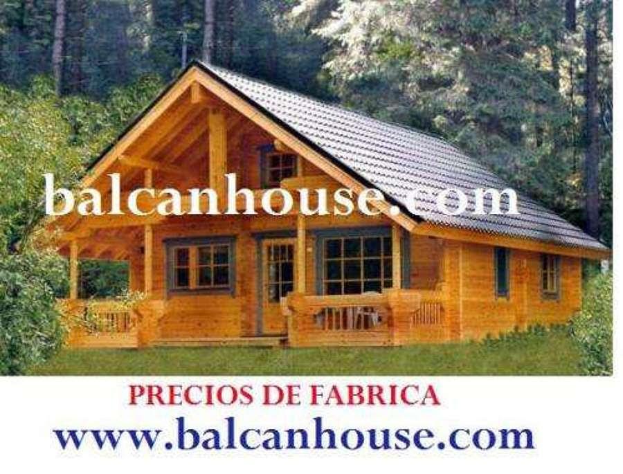 Casas de madera prefabricadas casas de madera precios y fotos - Casa madera galicia ...