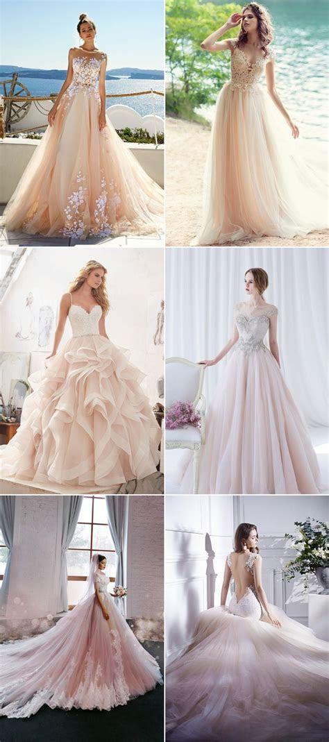 25  best ideas about Color Wedding Dresses on Pinterest