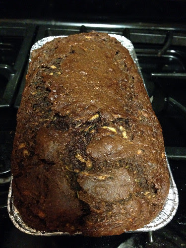 Bought some zucchini at a roadside stand, came home & made chocolate zucchini bread. by aviva_hadas (Amy)