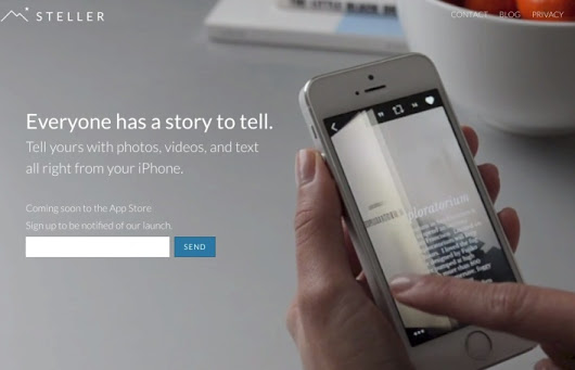 Check out this cool mobile story-telling app from a team of cloud superstars