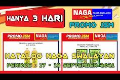 Katalog Promo NAGA SWALAYAN Terbaru 17 - 19 September 2021