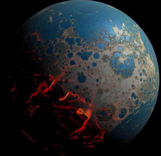 Atmosphere of Early Earth May Have Been Half As Thick As Today