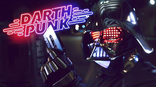 'Darth Punk - The Funk Awakens', A Rad 'Star Wars' Music Video Mashup of Daft Punk and the Dark Side