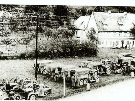 Una foto del 1940 dei tunnel segreti delle Ss
