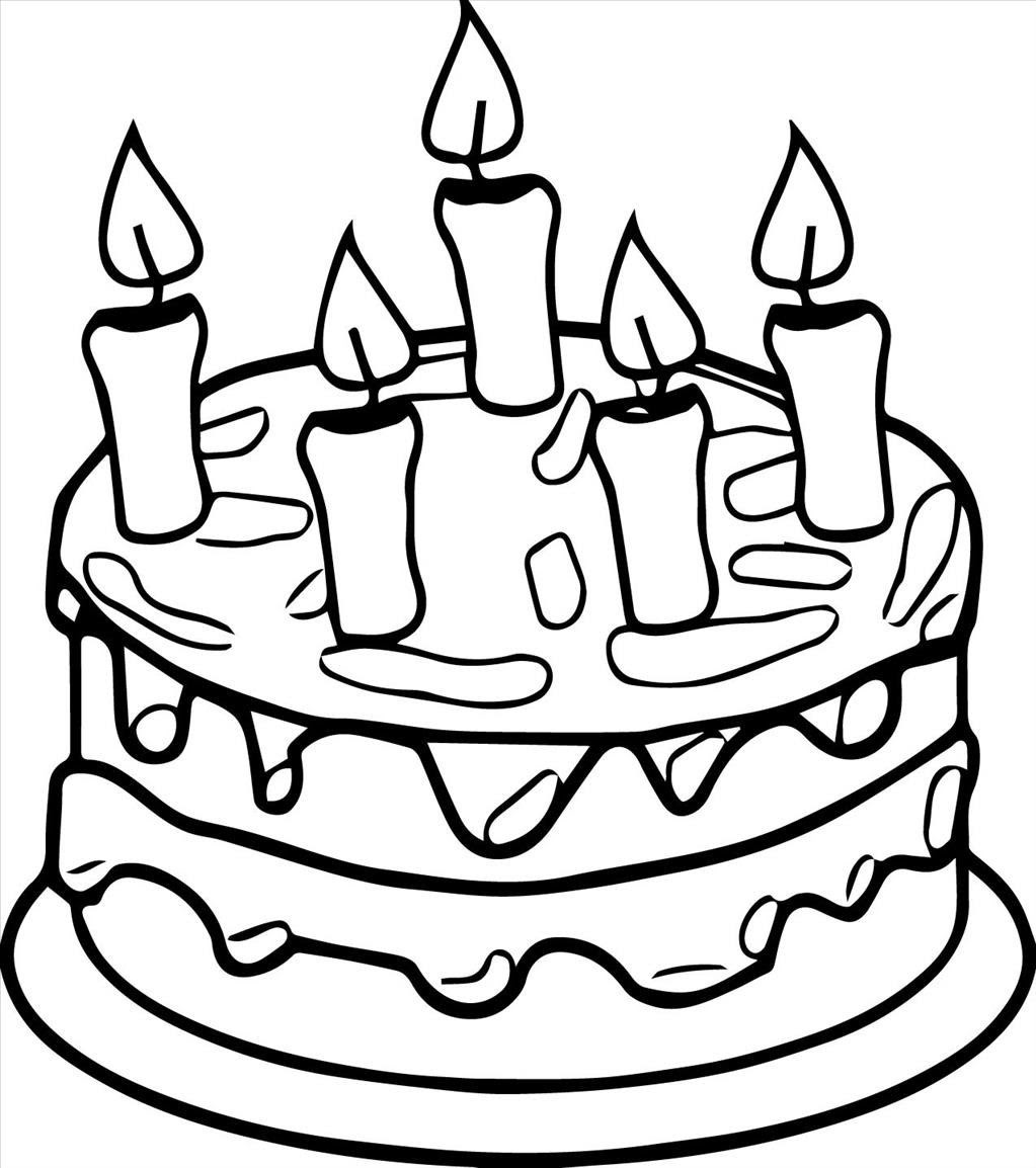 How To Draw A Birthday Cake Video  Stepbystep Pictures