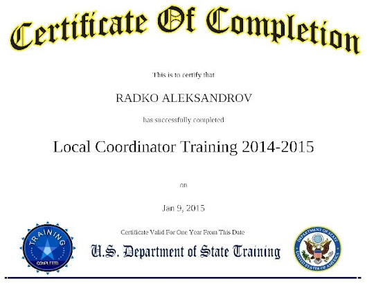 Radko Aleksandrov J-1 Visa Local Coordinator in Ocean City, Maryland …