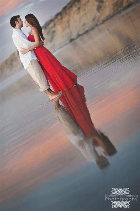 Engagement photos san diego la jolla beach scripps pier by