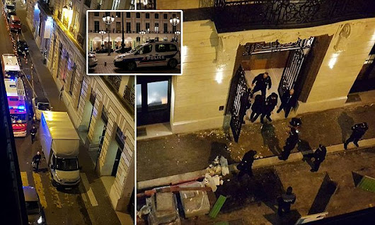 All £3.5million jewels stolen in Paris Ritz raid recovered