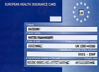 EHIC European Health Insurance Cards For Holidays In ...