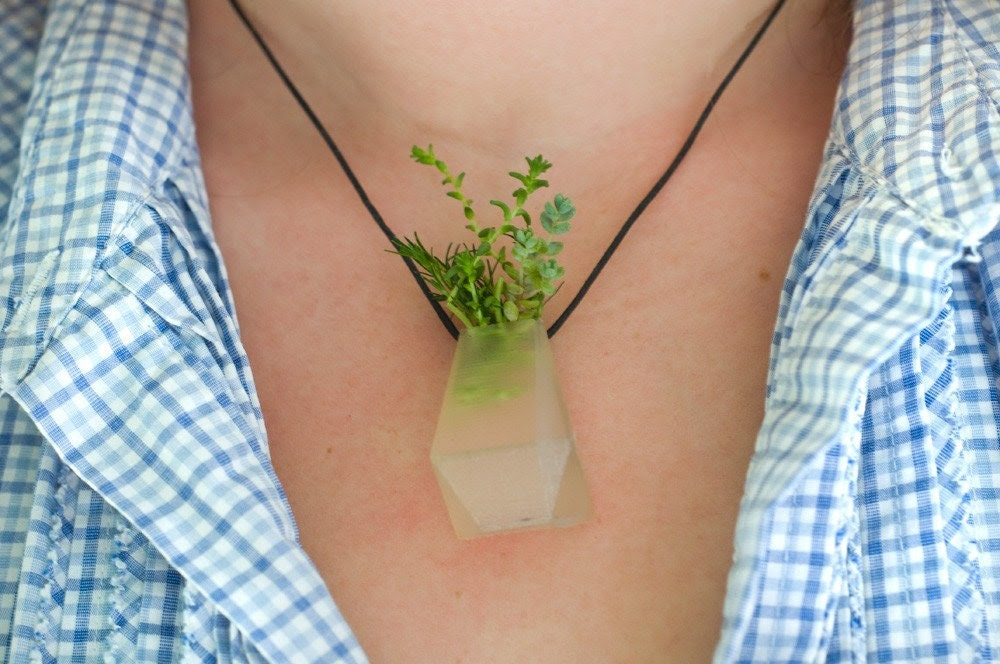 Wearable Planter No. 3, Translucent