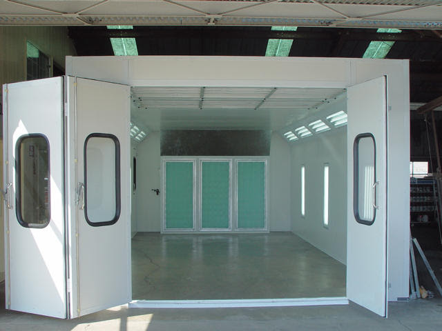 Auto Paint Spray Booths, How To Rent A Paint Booth! - How ...