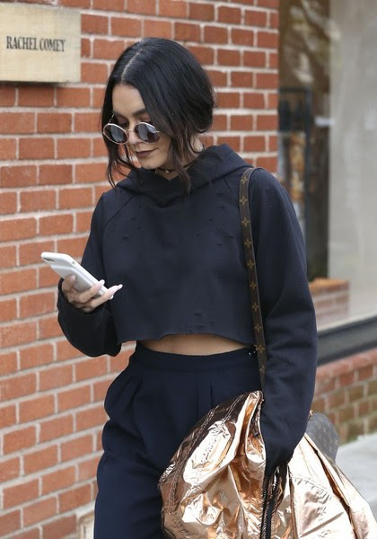Vanessa Hudgens Goes Shopping