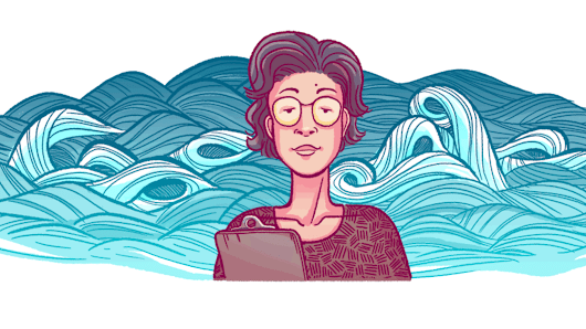 Katsuko Saruhashi Google doodle honors first woman elected to Science Council of Japan - Search Engine Land