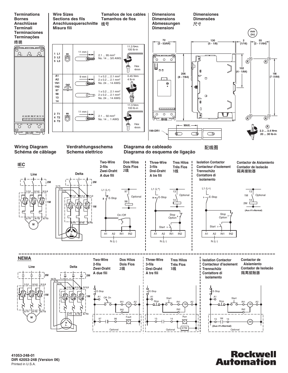 Motorverdrahtungsschema