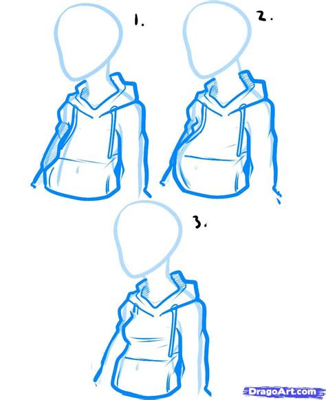 draw  hoodie   art sketches drawings