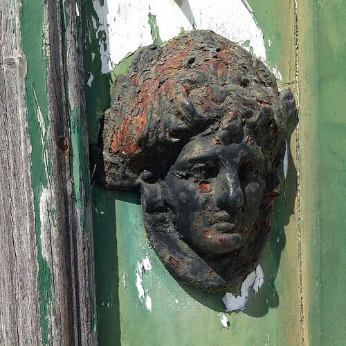 #Sad #green #door #knob by Joaquim Lopes