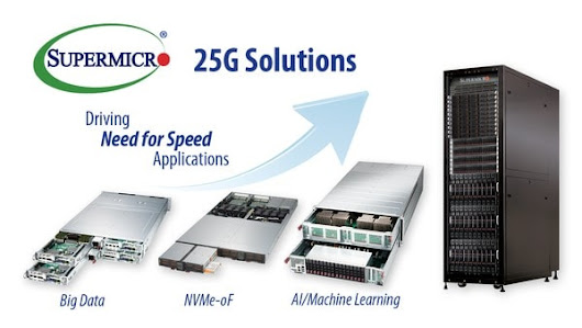 Supermicro | News | Supermicro Opens Path to 100G Networking with New 25G Ethernet Server and Storage Solutions