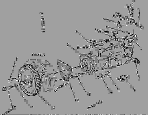 Wiring Diagram: 32 Perkins Diesel Injector Pump Diagram