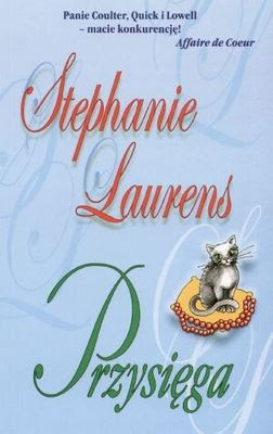 Znalezione obrazy dla zapytania przysiega stephanie laurens książka