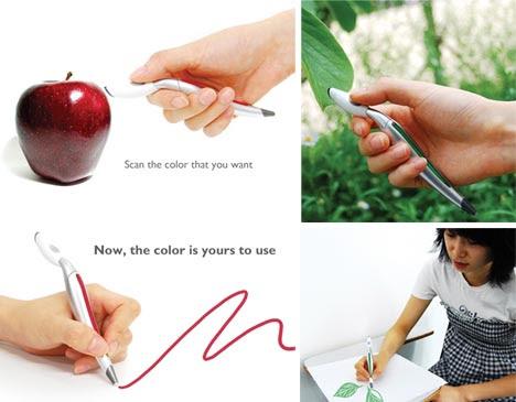 a colori in grado di selezionare-pen-scanner