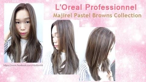 柔和幻彩粉褐 ● L'Oreal Professionnel Majirel Pastel Browns Collection