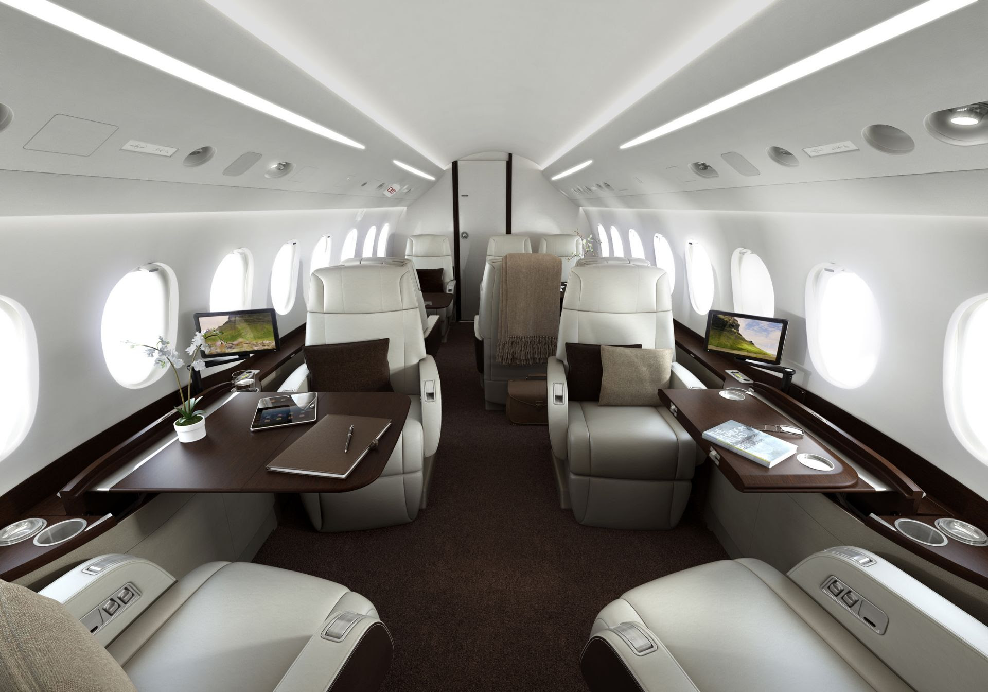 17 Of The Most Beautiful Private Jets Interiors In 2013