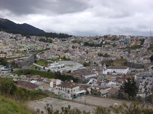Quito - City as Seen from Yaku Museo del Agua #3