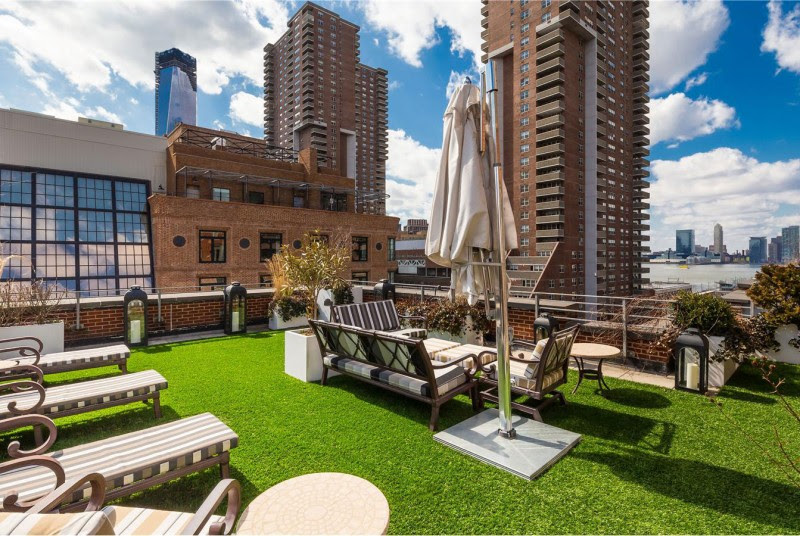 A Penthouse with a Backyard in Tribeca   HomeDSGN, a daily source ...