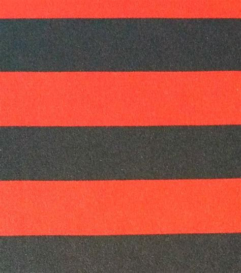 Halloween Spirit Collection  Stripe Knit Red & Black
