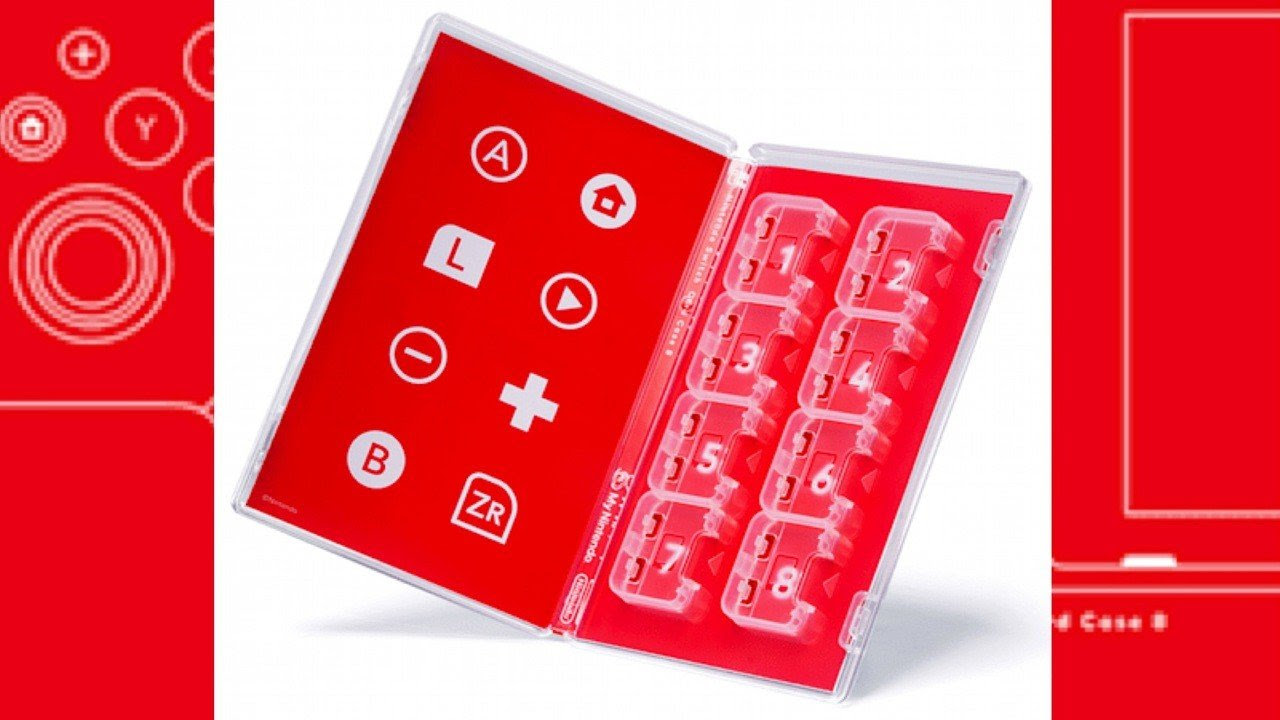 This Switch Case Lets You Store Eight Cartridges, Available Now From My Nintendo (Europe)
