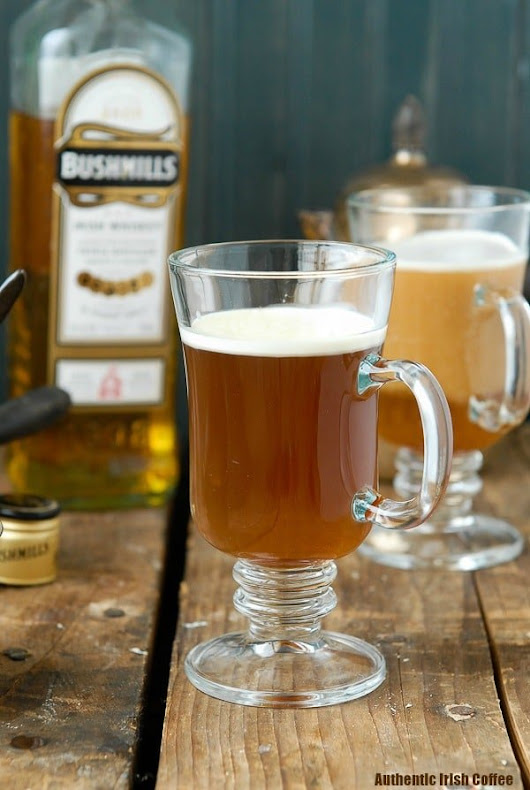 Authentic Irish Coffee recipe