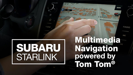 How to Use the Subaru STARLINK TomTom Multimedia Navigation System