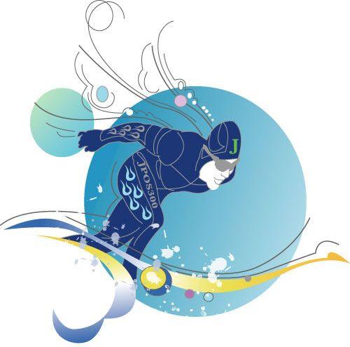 スケート スキー スノボー イラスト Noguchis Worldへようこそ 楽天