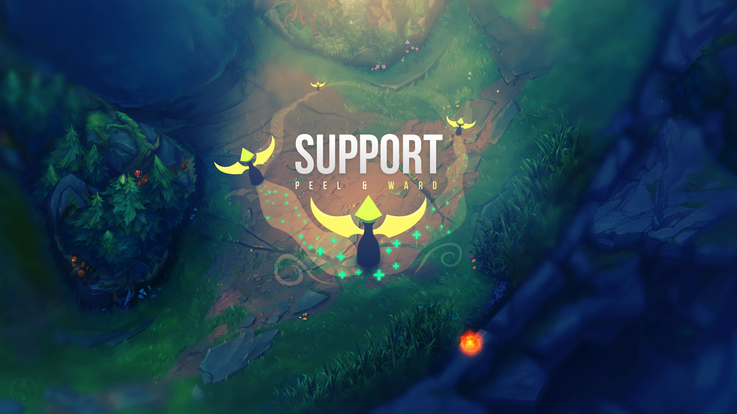 Lol Support Wallpaper 86 Images