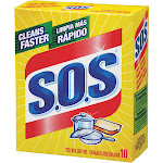 S.O.S Steel Wool Soap Pads - 10 count