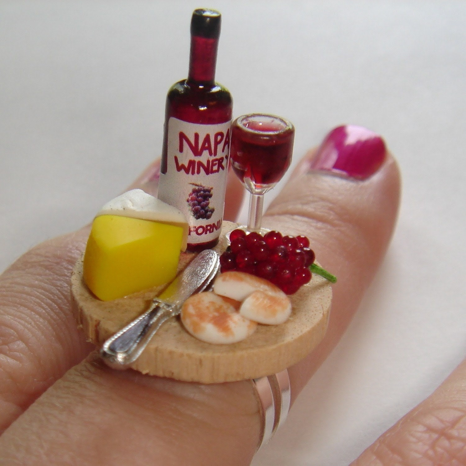 Wine and Cheese ring