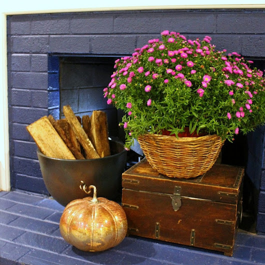 fireplace mantel decor easy ideas for fall and autumn