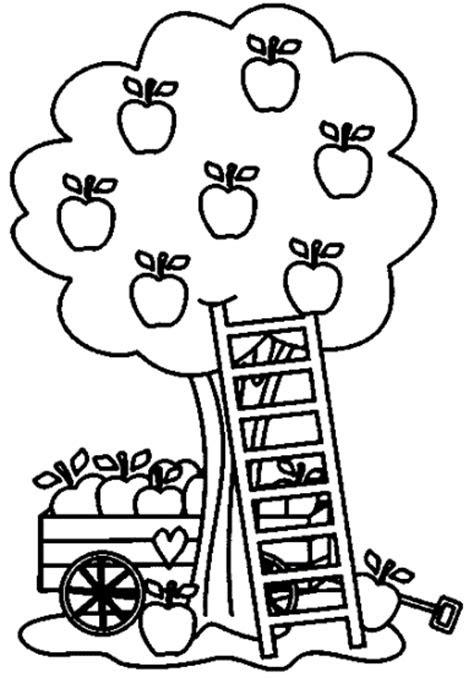 apfelbaum malvorlagengratis  kostenlose malvorlagen ideen