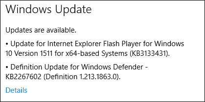 Windows 10 (KB3133431) is Another New Flash Player Update Available Now