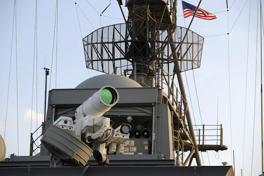 Not Sci-Fi Anymore: Navy's 'Fully Operational' Laser Gun Blows Up Boats, Drones