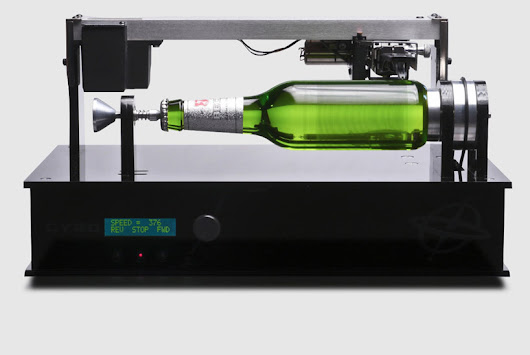 beck's beer bottle plays music like thomas edison's phonograph - designboom