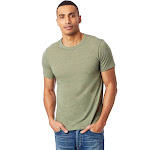Wholesale Alternative Eco Crew T-Shirt-Eco True Army GREEN-3XL