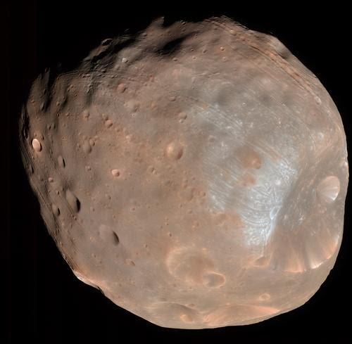 Phobos en 3D