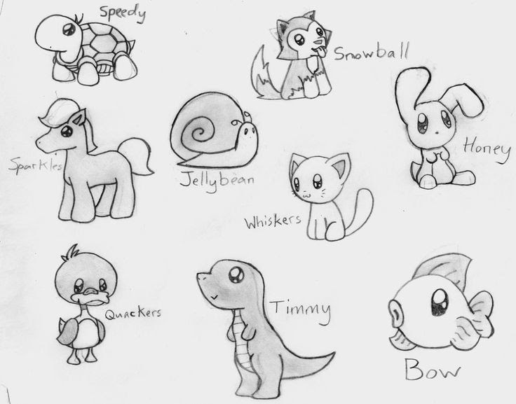 20 Latest Easy Simple Small Cute Drawing Ideas Creative Things Thursday